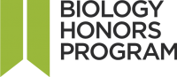 Biology Honors Program logo
