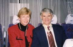 Joseph Bagnara, and his wife, Lou